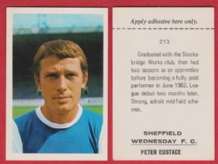 Sheffield Wednesday Peter Eustace 213